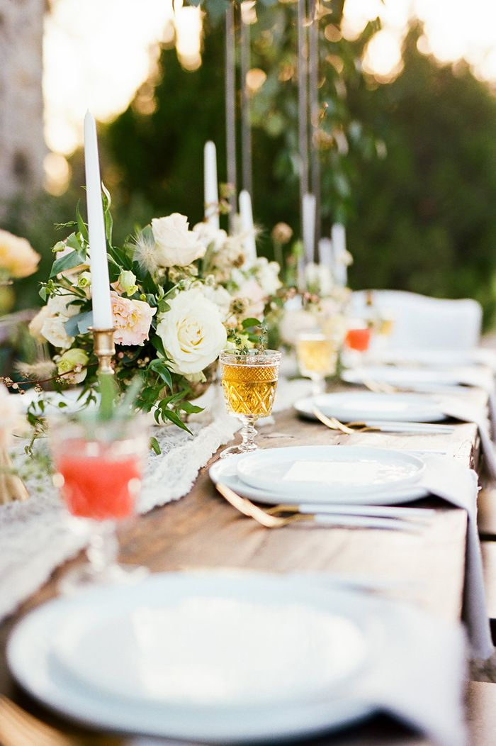 Farm Table Wedding with Colorful Craft Cocktails and Summer Flowers  https://heyweddinglady.com/craft-cocktails-summer-sun-european-style-wedding/    #wedding #weddings #weddingideas #texaswedding #weddingstyle #weddingreception #reception #villa #weddingflowers #tablescape #centerpieces #weddingdesign #eventdesign