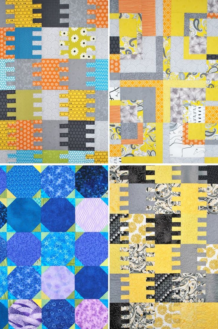 Baby quilts made for friends and family