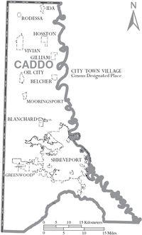 Caddo Parish, Louisiana - Wikipedia, the free encyclopedia
