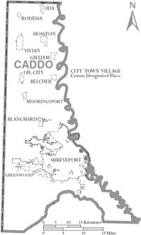 Caddo Parish, Louisiana - Wikipedia, the free encyclopedia