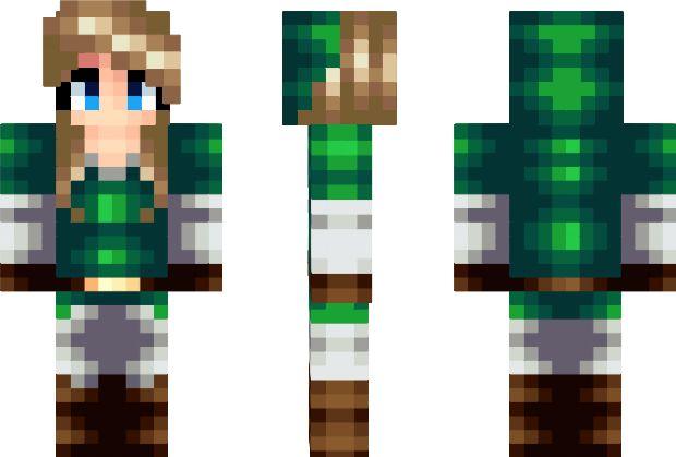 Link – Girl Minecraft Skin