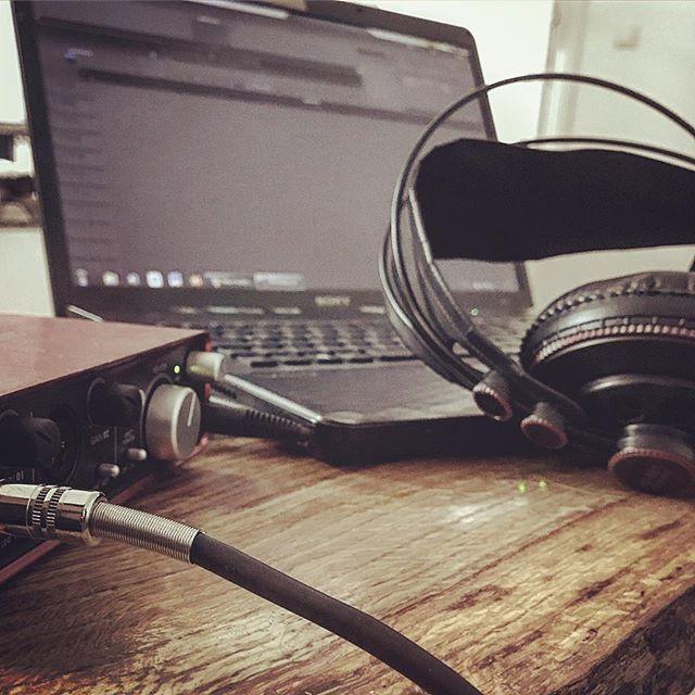 Reposting @patrickgmusic: Love it 🤙🏽 #patrickg #offthepath #producer #music #musician #musicaly #musicians #musicismylife #doordie #thankful #recording #record #usbinterface #focusride #superlux #ibanez #pickofdestiny #homestudio #studio #studioflow #feelsogood #soundsgood #acoustic #acousticguitar
