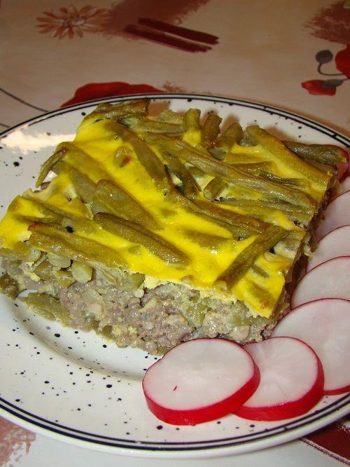Cristina's world: Musaca cu fasole verde
