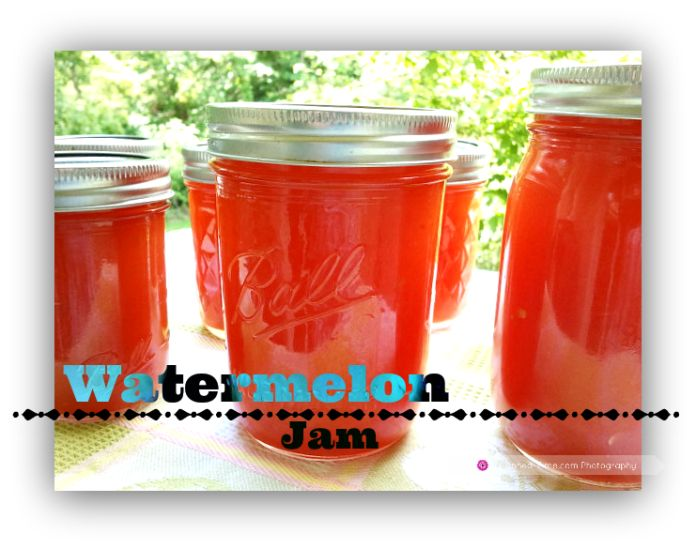 Watermelon Jam - from Canned-time.com
