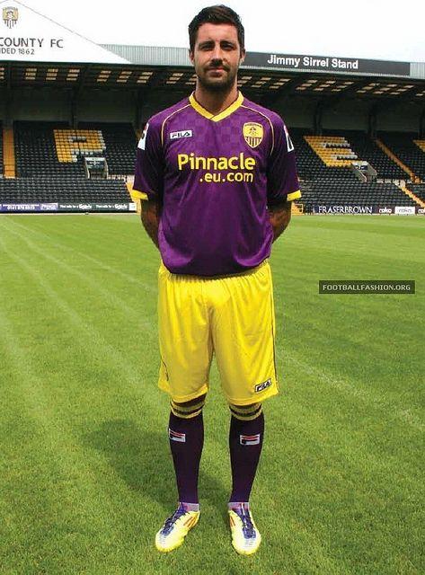 Notts County FC 2013/14 Fila Away Kit