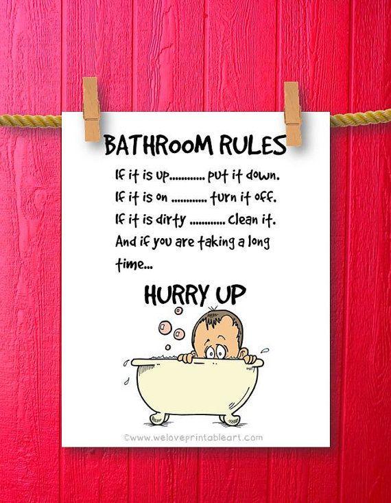 Bathroom Sign Quotes 70 best bathroom signs images on pinterest | bathroom ideas