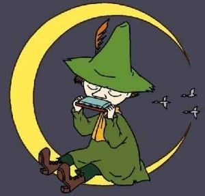 """""""You can believe what you want"""" said Snufkin, blithely."""