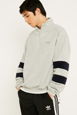 ba4751af5aac91 Polar Fleece Mock Neck Jumper | Urban Outfitters Urban Outfitters, Pullover,