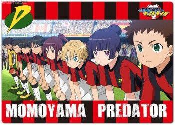 MOMOYAMA PREDATOR!!! :3