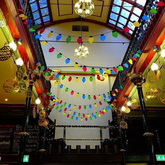 regram @maltcross These gorgeous Christmas decorations from @hnmarkets are giving us so much #mondaymotivation today! Have you booked your Christmas party yet? Get in touch today on info@maltcross.com #maltcross  #nottingham #musichall #christmas #christmasdecorations #festive #winter #hotchocolate #christmasparty #christmasparties #independent #cafebar #lovenotts #itsinnottingham