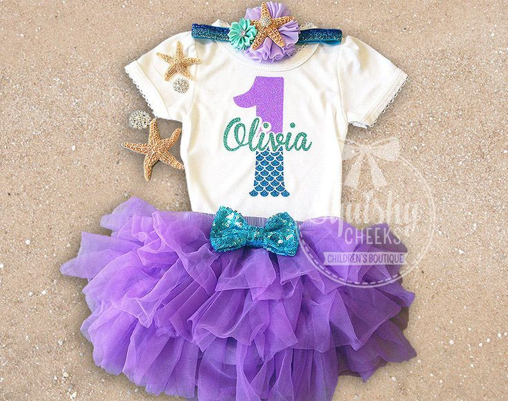Mermaid Birthday Outfit, First Birthday Outfit, Little mermaid birthday outfit, Mermaid 1st Birthday Outfit, Purple and Aqua, Mermaid Party #babyshowerideas4u #birthdayparty  #babyshowerdecorations  #bridalshower  #bridalshowerideas #babyshowergames #bridalshowergame  #bridalshowerfavors  #bridalshowercakes  #babyshowerfavors  #babyshowercakes