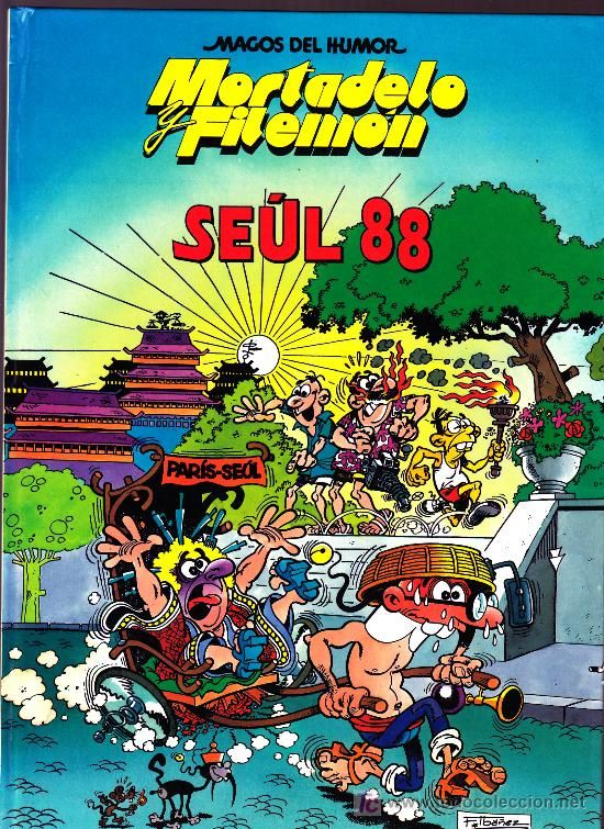 Seul 88 - Mortadelo y Filemón