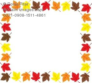 Microsoft Free fall Clip Art Downloads | Page Border Made ...