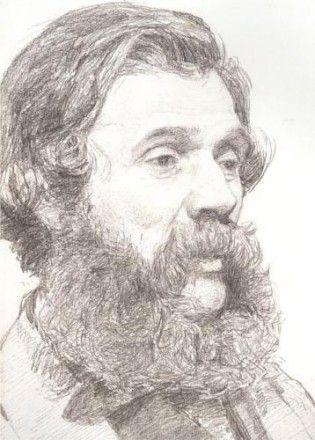 Portrait of William Moore by Albert Joseph Moore