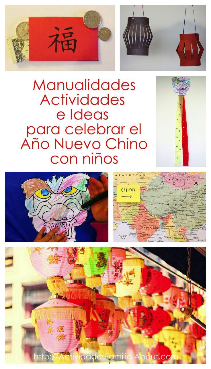 Manualidades, Actividades e Ideas para celebrar el Año Nuevo Chino con niños