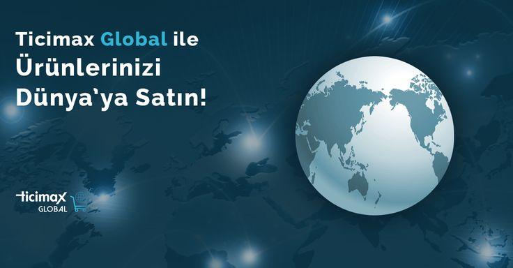 Global projeleriniz için en iyi #eticaret altyapısı Ticimax'ta!  *Bulunduğu ülkeye göre ziyaretçi tanıma *Çoklu dil altyapısı *Farklı para birimleri üzerinden satış *Özel tasarım *Mobil uygulamalar ve daha fazlası Ticimax Global'de!   İncelemek için;https://www.ticimax.com/ileri-seviye-bulut-eticaret/  #eticaret #sanalmağaza #eticaretsitesi #onlinesatış #ecommerce #mobilticaret #satışsitesi #ticimax