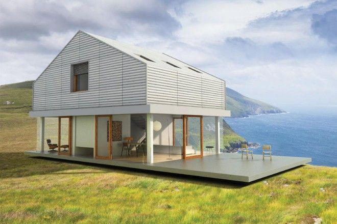 17 migliori idee su case in legno su pinterest case for Migliori case prefabbricate