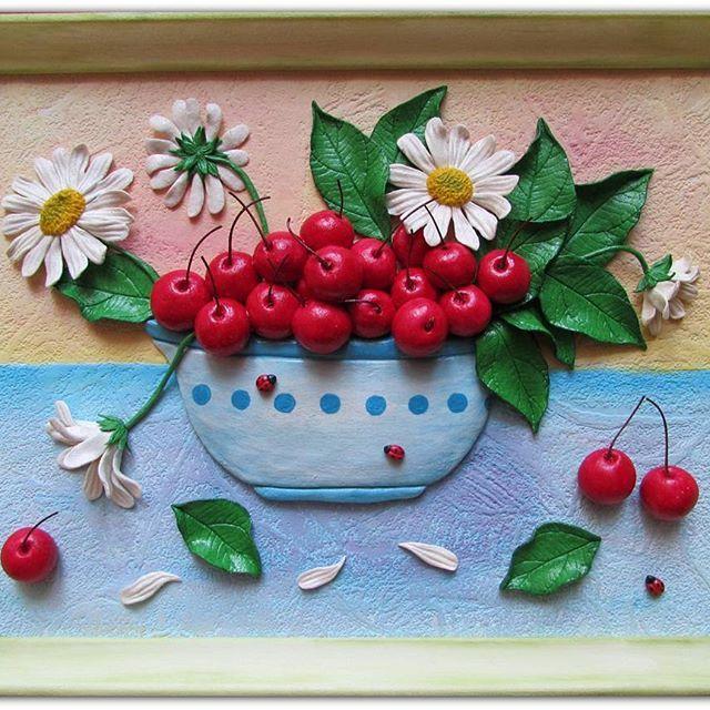 ягоды из соленого теста картинки мог