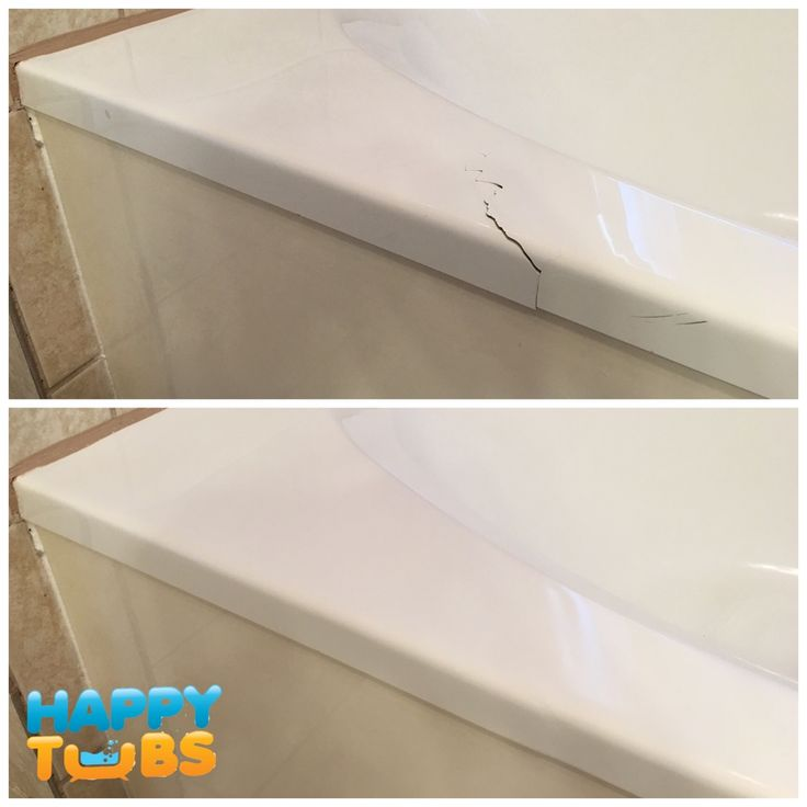 tub drilled fiberglass holes repair cracked crack services bathtub foaming acrylic for hole kit