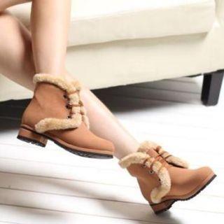Lane172 - Velo-guarnição botas de amarrar