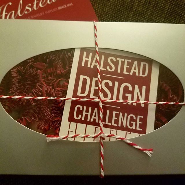 Just arrived home after a long day of travel and my #HalsteadDesignChallenge kit was waiting for me!  #snagmember #designchallenge