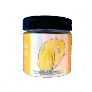 Handscrub met een frisse citrusgeur op basis van voedende soja- en olijfoliën en etherische oliën.