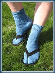 Ravelry: Nice and Easy pattern by Shirley Rae free pattern for toe up socks....light fingering..... 250 - 350 yards