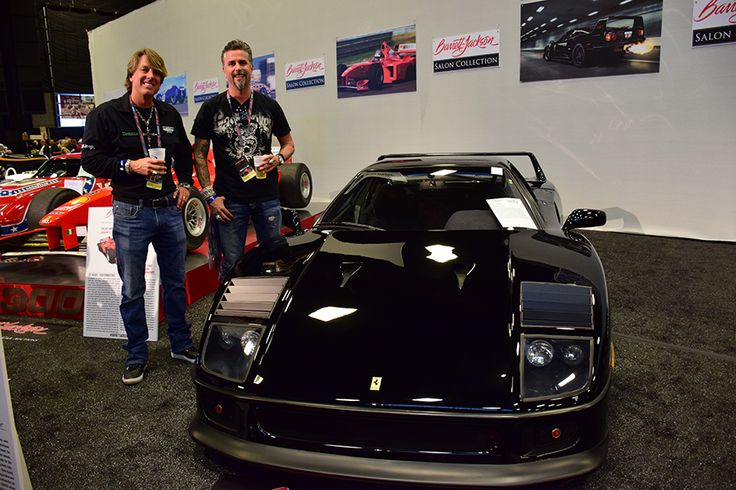 The @GasMonkeyGarage #Ferrari #F40 is truly awesome from every angle! #BarrettJackson @Rachael Pridemore