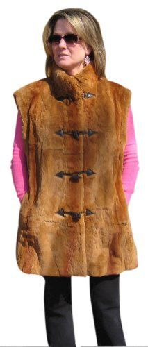 Bergama Sheared Rabbit Sections Vest - XXXXX-Large - Camel Brown Bergama. $149.99. Save 85% Off!