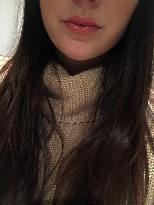 Lipsense Review  aussie rose, lip gloss, long lasting lip color