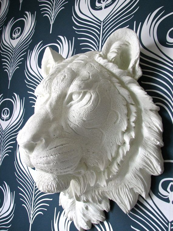 Animal Head Wall Decor 182 best animal heads gone wild! images on pinterest | faux