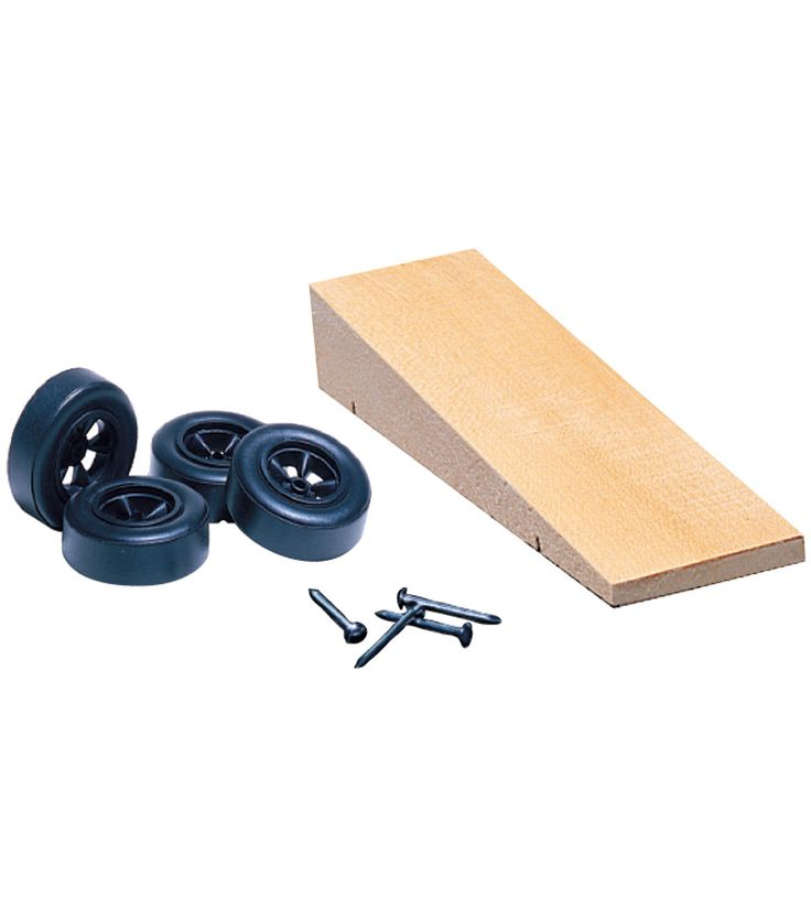 Pinewood Derby Car Kit - Wedge