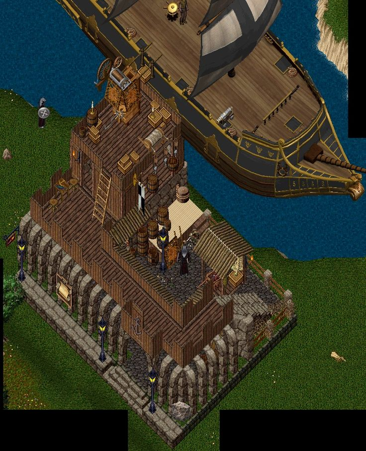 Lovely Online House Tours #10: Escaflowne Has Left Ultima Online, But Agreed To Let Me Post His Homes In  My Home Tours To Share The Wonderful Designs He Came Up With While  Designing And ...