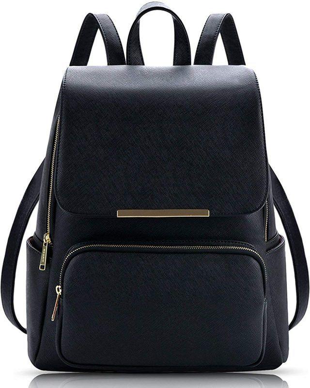 Alice Stylish Girls School Bag College Bag Casual Backpack Daypack(PREBKP9)  (Black) c6b6cf5de0ad7