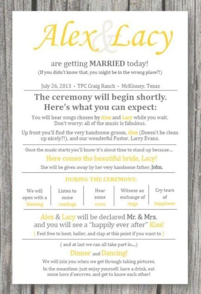 Printed Rustic Wedding Ceremony Programs Rustic Wedding Ceremony Wedding Ceremony Location Wedding Ceremony Programs