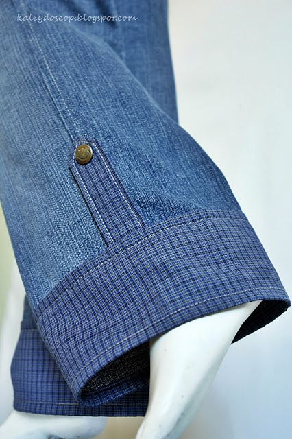 MC - lengthening jeans etc with cuff and button