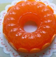 Narancs, vagy citrom zselé – dédike bámulatos desszertkölteménye!