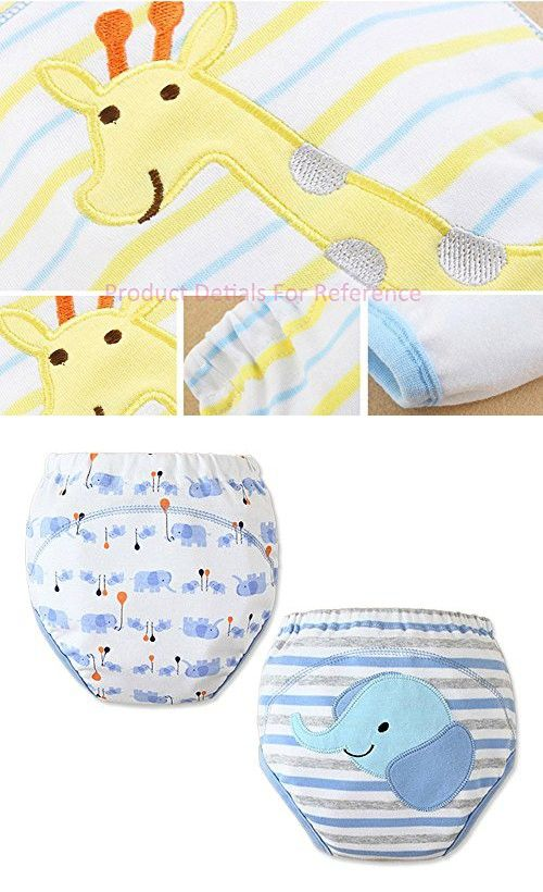 [Ultralisk] Baby Toilet Training Pants Nappy Underwear Cloth Diaper 15.4-26.4Lbs