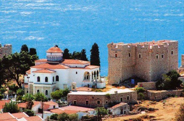 #Castle#Samos_island