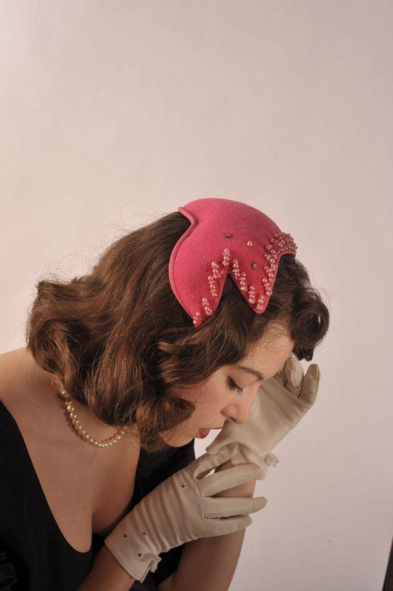 The 1950s Bubblegum Vintage Hat