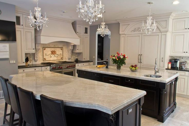 Should I Contrast My Kitchen Island With My Countertops