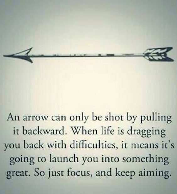 Keep aiming cuz arrows can only be shot after being pulled back