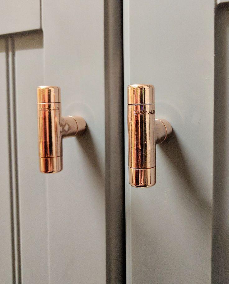 26 best copper kitchen cabinet drawer handles knobs pulls images on pinterest drawer on kitchen cabinets knobs id=52780