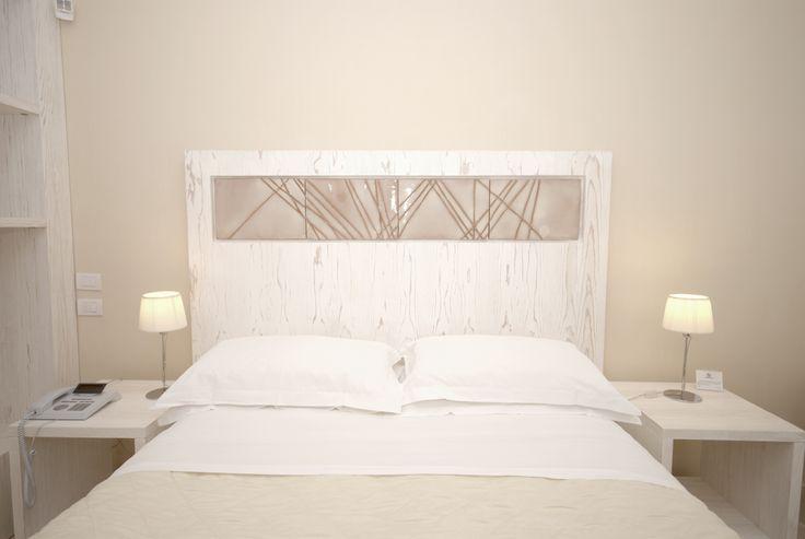 Double bed - Letto Matrimoniale #doublebed #hotel #masseria #elegant #travel #puglia #masseriacordadilana #familyhotel #salento #holiday