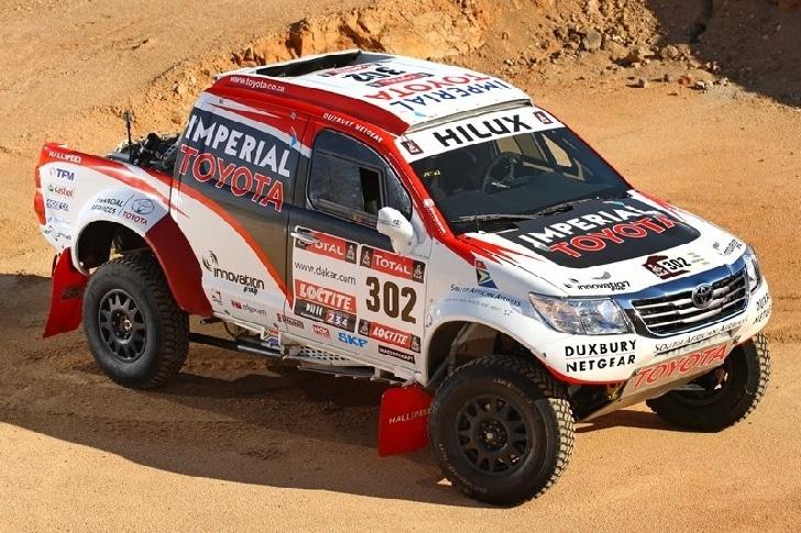 Giniel de Villiers #Dakar2013 #Toyota Truck