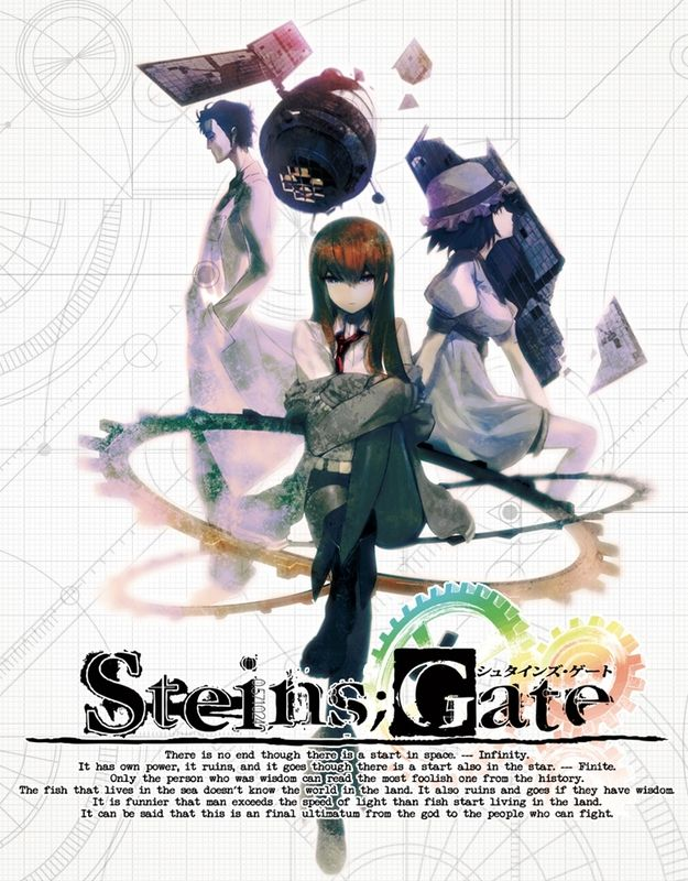Steins;Gate english dubbed audiotracks (OPEDless)
