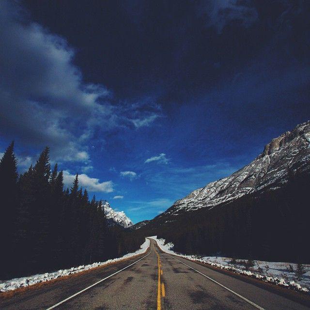 Glory Road. • #explorealberta by mattfrench
