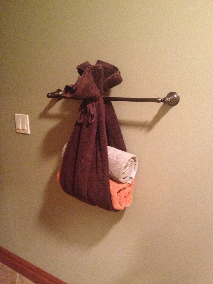 17 Best Images About Bathroom On Pinterest The Guest Bathroom Towel Display And Towels