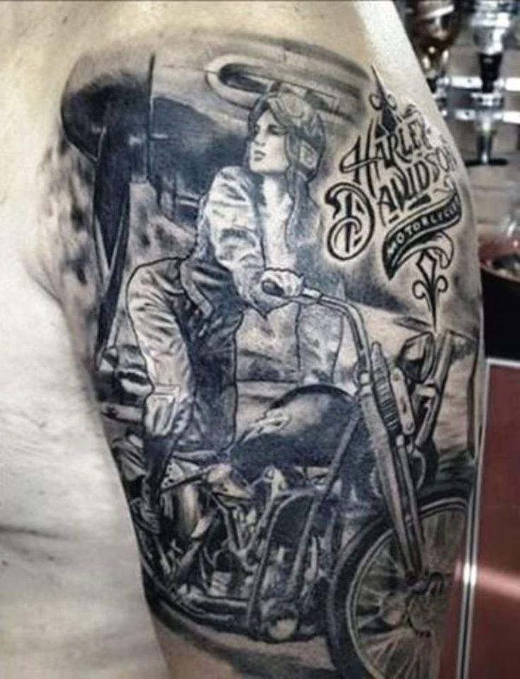 8 best motorcycle tattoos images on pinterest motorcycle tattoos needle tatting and tatting. Black Bedroom Furniture Sets. Home Design Ideas