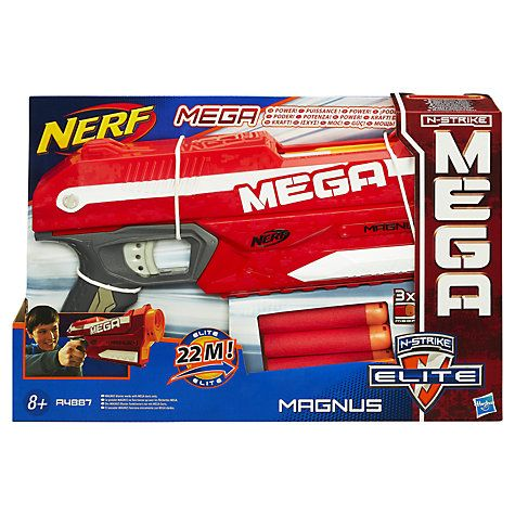 Buy Nerf N-Strike Magnus Blaster Online at johnlewis.com